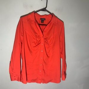 Lane Bryant button front shirt size 14